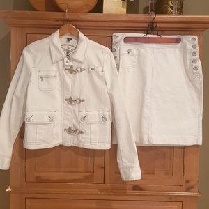 Lauren Jean's Nautical Jacket and Skirt